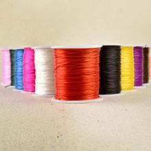 60M/lot 0.7MM Colorful Stretchy Elastic Rope Cord Crystal String For Jewelry Making Beading Bracelet Wire Fishing Thread Rope D2(China)