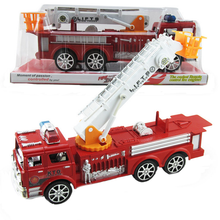 1* Creative Children Kids Funny Sliding Car Truck Model Children Educational Toys Fire Engine for Baby Chirstmas Birthday Gifts