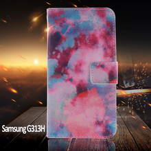 Phone Case For coque Samsung Galaxy Trend 2 Lite Case G313H for capa Samsung Galaxy Ace 4 Lite Case SM-G313H With Card Holder(China)