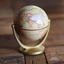 Globe Decoration Leaning Educational Geography Teaching Tool Globe Study Decorates Exquisite Gift Office Study Bookcase Desktop