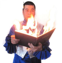 Fire book appearing dove - Magic tricks,dove magic,fire,illusions,Mentalism Magic,Close up,stage props,comedy