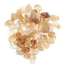 100g Rough Citrine Stones Brazil Raw Natural Crystals Home Decoration Crafts for Reiki Healing E5M1(China)
