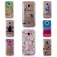Wavy Anti slip TPU Case Cover For Samsung J3 J310 Painted  Pattern Phone Cases For Samsung J3 J310 Capa