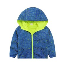 New Arrival Spring/Autumn Boy And Girls Outwear Children's Hooded Jackets Kid Long Sleeve Windbreaker