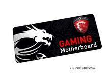 locked edge msi mouse pad 90x40cm pad to mouse notbook computer mousepad Popular gaming padmouse gamer to keyboard mouse mats