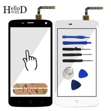100% Working Touch Screen Digitizer Glass Panel For ZTE Blade L2 plus L370 C370 L2Plus Front High Touchscreen Replace Adhesive