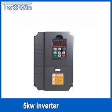 5.5KW 380V Frequency Drive CNC inverter Frequency Drive VFD 3 phase use for 4.5KW spindle inverter