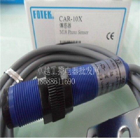 new original Taiwans Yangming FOTEK photoelectric sensor infrared sensor switch sensor CAR-10X<br>