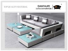 DYSF-D8C02 Danyalife High End Synthesis PE Rattan Luxury Villa Outdoor Sofas