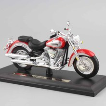 1:18 scale maisto kids mini metal diecast motorcycle models YAMAHA 2001 Road Star racing Bicycle Moto collection Toys for boys