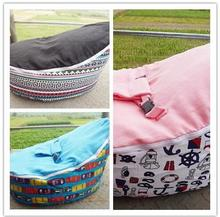 Fashion new design multicolor  Bean Bag  Bed Portable Seat  multifunctional 2 tops beanbag chair ywxuege