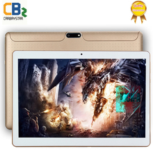 T805C Smart tablet pcs android tablet pc 10.1 inch Android tablet Octa core tablet computer Ram 4GB Rom 64GB White Black Gold