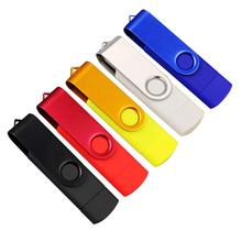 AMZDEAL Wwivel USB Flash Drive Memory Stick Pen External Storage Rotate U Disk Pen Drive 512MB 1GB 2GB For Gift(China)