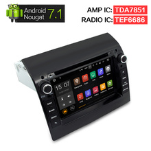 Android 7.1 Car dvd Stereo For Fiat Ducato Citroen Jumper Peugeot Boxer 2011-2015 Headunit Auto Radio GPS Navigation Audio Video(China)