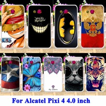 Durable Mobile Phone Shell For alcatel OneTouch Pixi 4 4.0 inch Cases Covers OT4034 dual-SIM 4034D 4034E 4034F 4034N Housing Bag