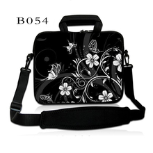 Flower Computer Notebook Laptop Shoulder Bag Cover Pouch For Macbook Air 11 13 15 17 10 14.1 14 Dell Sony Ipad Mini 7.9