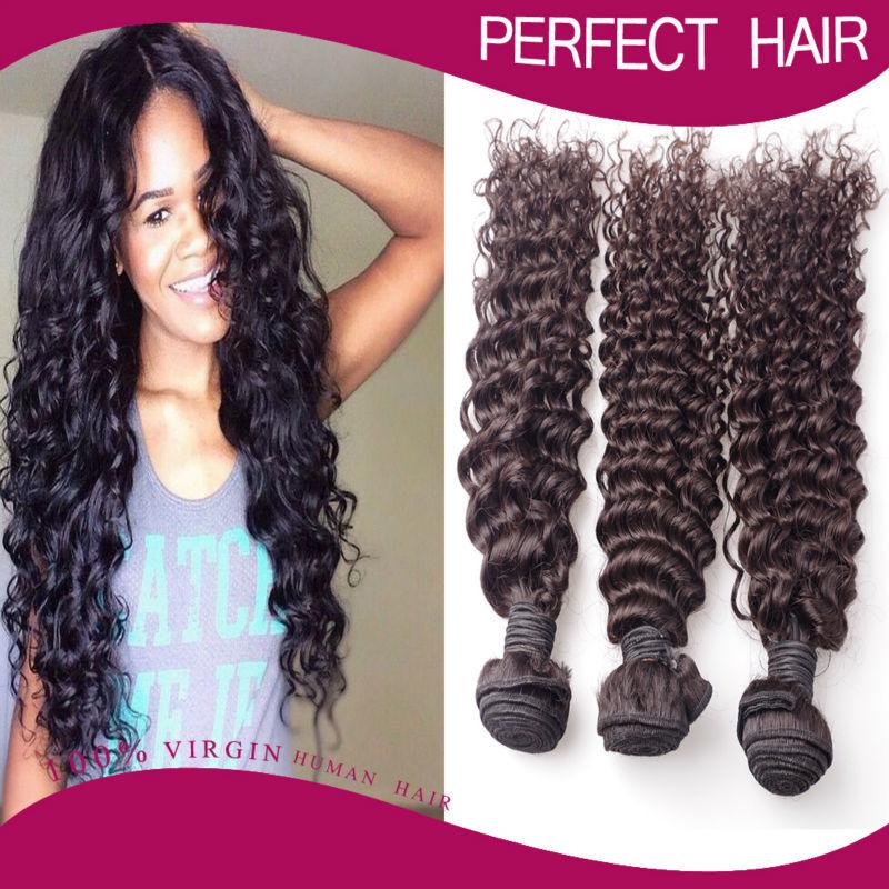 Virgin Malaysian deep Curly Hair 3pcs/ lot 10-30 Inch 100g/pc malaysian deep wave maylasian hair 100% Human Hair<br><br>Aliexpress