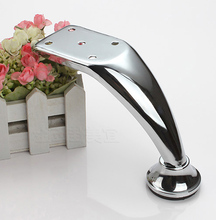 11.2cm height 4.41 inch Chrome shiny iron Furniture Cabinet Tea Table Sofa Leg Feet