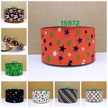 Free shipping 2016 new arrival pets shop ribbons Hair Accessories ribbon 10 yards  printed grosgrain ribbons 15972