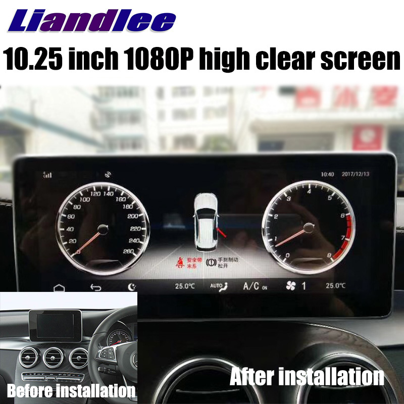 Liandlee Car Multimedia Player NAVI For Mercedes-Benz MB GLC Class X253 C253 2015~2018 Car Radio Stereo GPS Navigation 1