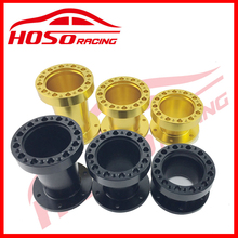 HOSO RACING Universal Steering Wheel Hub Spacer 2 3 4 INCH Steering Wheel Hub Boss Kit Adapter Spacer