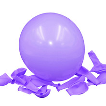 Thick 2.2 g Birthday Ballons Decorations Wedding Ballons Pink White Purple Globos Party Wholesale light purple balloon