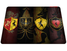 hot Game of Thrones mouse pad Natural rubber mousepads gear gaming mouse pad gamer large personalized pad mouse keyboard pad(China)