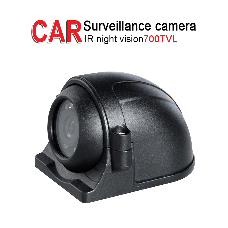 700TVL HD Night Vision Side Camera,Outdoor Waterproof Left/Right Backup Parking Assistance Reverse Camera for Bus Truck Security<br>