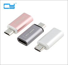 Buy USB-C Female Micro USB Male Adapter USB Type-c TO Micro USB Connector Android Smart Phone 3A Fast Charging Output for $2.89 in AliExpress store