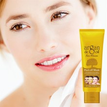 New arrive 120g Morocco Agam oil Gold Crystal collagen Mask face mask face care product
