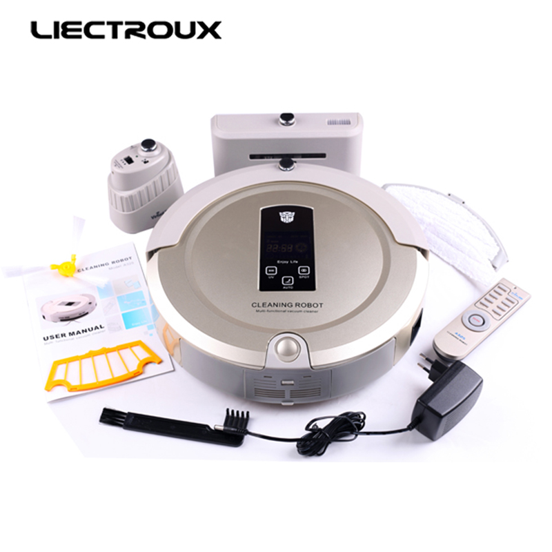 LIECTROUX A325 Robot Vacuum Cleaner Smart Remote Control HEPA Filter for Household Carpet Pet Hair Dust(China (Mainland))