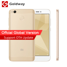 "Global Version Original Xiaomi Redmi 4X Pro 4 X 3GB RAM 32GB Mobile Phone Snapdragon 435 Octa Core 5.0"" 4G LTE CE B4 B20 4100mAh"