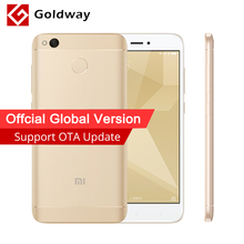 "Global Version Original Xiaomi Redmi 4X Pro 4 X 3GB RAM 32GB Mobile Phone Snapdragon 435 Octa Core 5.0"" 4G LTE CE B4 B20 4100mAh(Hong Kong)"