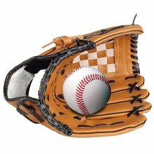 Top Sale Pu Leather Baseball Glove Left Hand 10.5/12.5 Inch Baseball Softball Training Gloves Guantes Beisbol Wholesale(China)