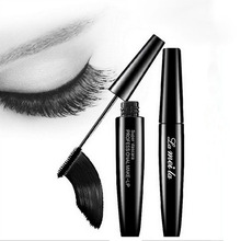 Professional Brand Makeup 3d Fiber Silicon Brush Head Eyelash Extensions Thick Curling Black Mascara Waterproof Cosmetics