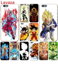 Lavaza dragon ball Goku vs Golden Hard Case for iphone 4 4s 5c 5s 5 SE 6 6s 6/7/8 plus X for iphone 7 case(China)
