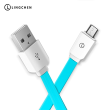 LINGCHEN Micro USB Cable 2A Fast Charging Cable Micro USB Connector Sync Data USB Adapter Charger Cable Samsung USB Micro