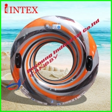 122cm Intex Vortex Swim Tube Adult Inflatable Swimming Pool Ring With Handles,Dual Chmabers(China)