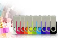 Best selling colourful rectangle u disk Plastic Swivel USB Flash Drive 2GB 4GB 8GB 16GB 32GB 64GB usb2.0 drive flash memory S82(China)
