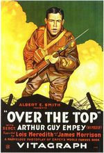 1918: Over the Top Sgt. Arthur Guy Empey Classic Vintage Poster Decorative DIY Art Home Bar Posters Decor(China)