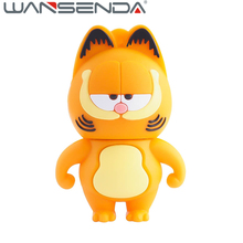 Hot Sell High Speed Garfield USB Flash Drives USB 2.0 Pen Drive 32GB/16GB/8GB/4GB pendrives U disk gift