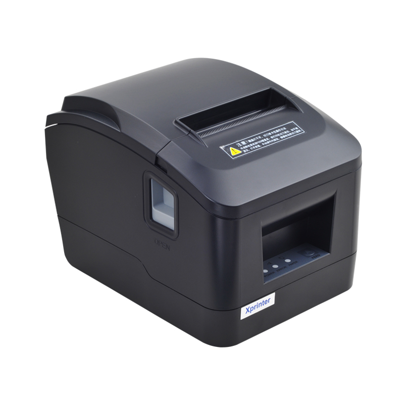 New arrived USB / Lan port 80mm auto-cutter thermal receipt printer POS printer for Supermarkets, shopping malls, milk tea shops