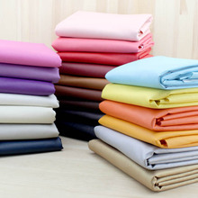 soild apparel sewing textiles & PU leather patchwork fabric cloth crafts materials waterproof fabric 1/4 meter cloth fabrics new(China)