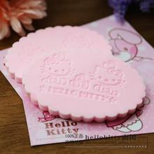 Pink Kitty Cat Magic Face Wash Cleaning Sponge.Scouring Pads.Soft Facial Sponges.Makeup Tools Cleaner Flutter Corneous Sponges