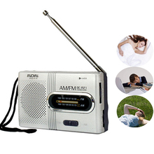 BC-R21 Mini Radio Portable AM FM Telescopic Antenna High-performance Radio World Receiver Speaker Car Radio Loudspeaker PLAYERS