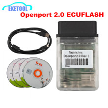 Newest Openport 2.0 ECUFLASH Diagnostic Cable Tactrix Works For Toyota/Jaguar/LandRover/Subaru/Mitsubishi Openport Reflashing