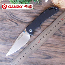 58-60HRC Ganzo G7531 440C G10 Carbon Fiber Handle Folding knife Survival Camping tool Pocket Knife tactical edc outdoor tool