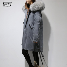 Fitaylor Winter Women Jacket Slim Duck Down Coat Solid Color Full Snow Wear Thick Warm Winter Coat Fashion Overcoats(China)