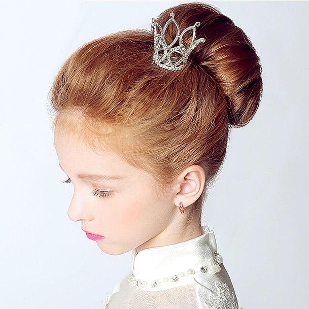 Прически для принцесс с коронами