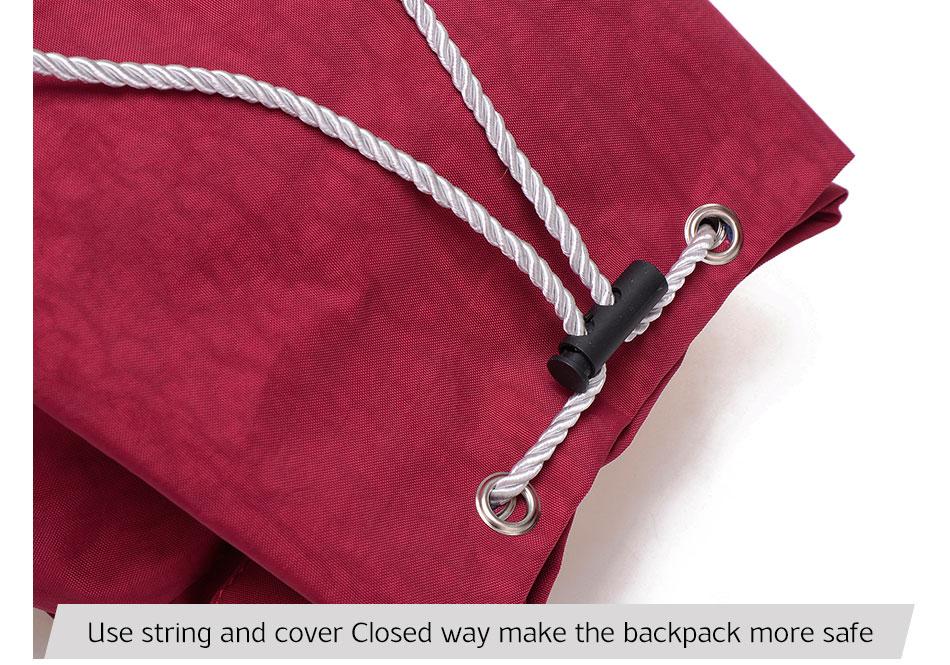 Sinakates ja punakates toonides seljakotid